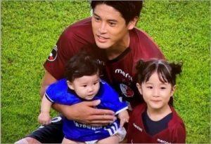 内田篤人家族