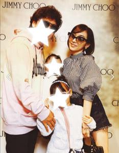 加護亜依の家族写真