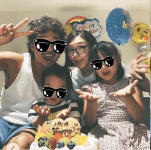 加護亜依と家族