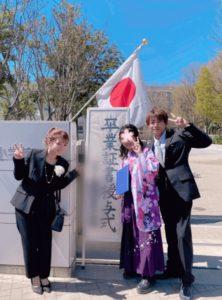 辻希美の長女の卒業式