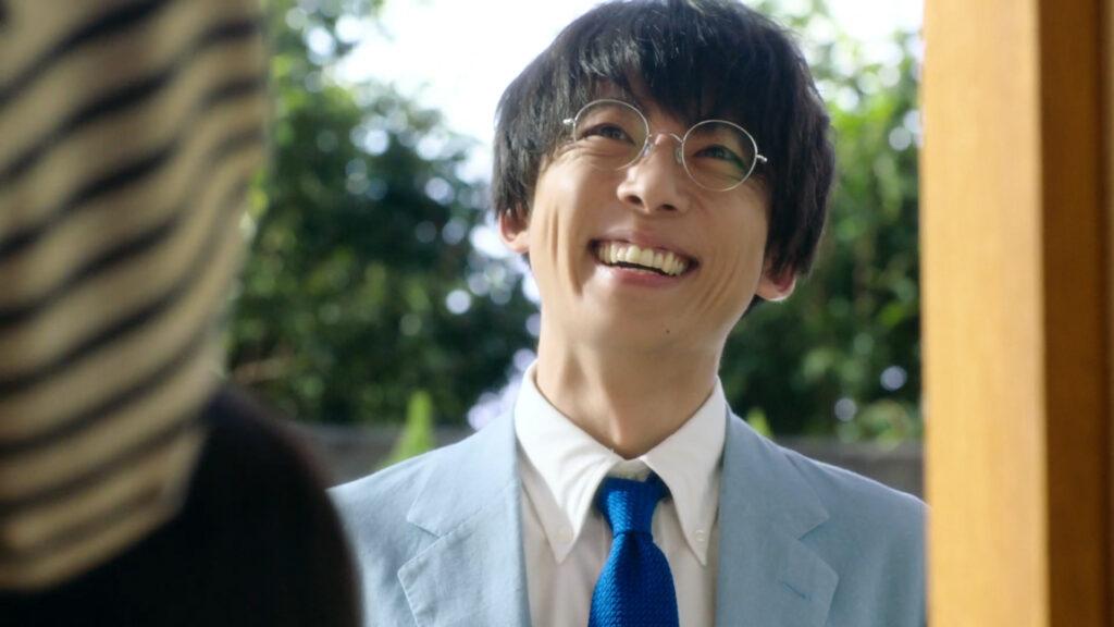高橋一生の笑顔