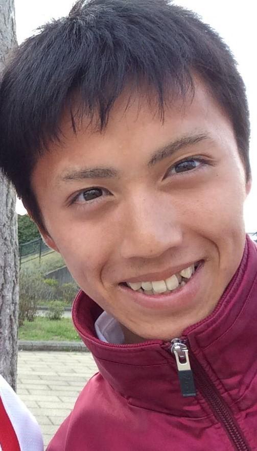 湯原慶吾の笑顔