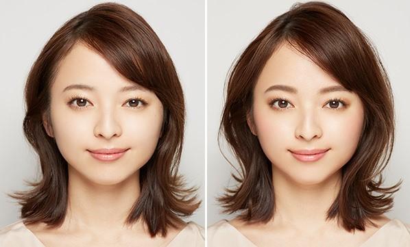 顔の比較画像