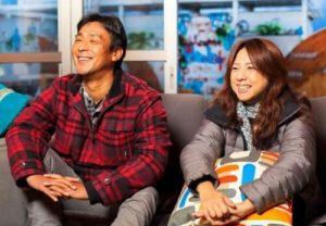 平野歩夢の両親