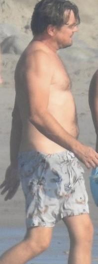 レオナルドディカプリオの激太り水着姿