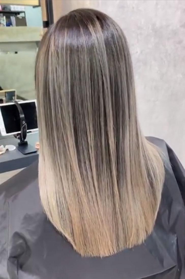 植草歩のヘアカラー