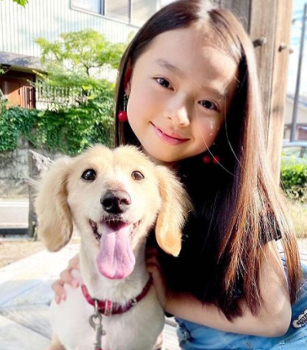 肥田莉里香と犬