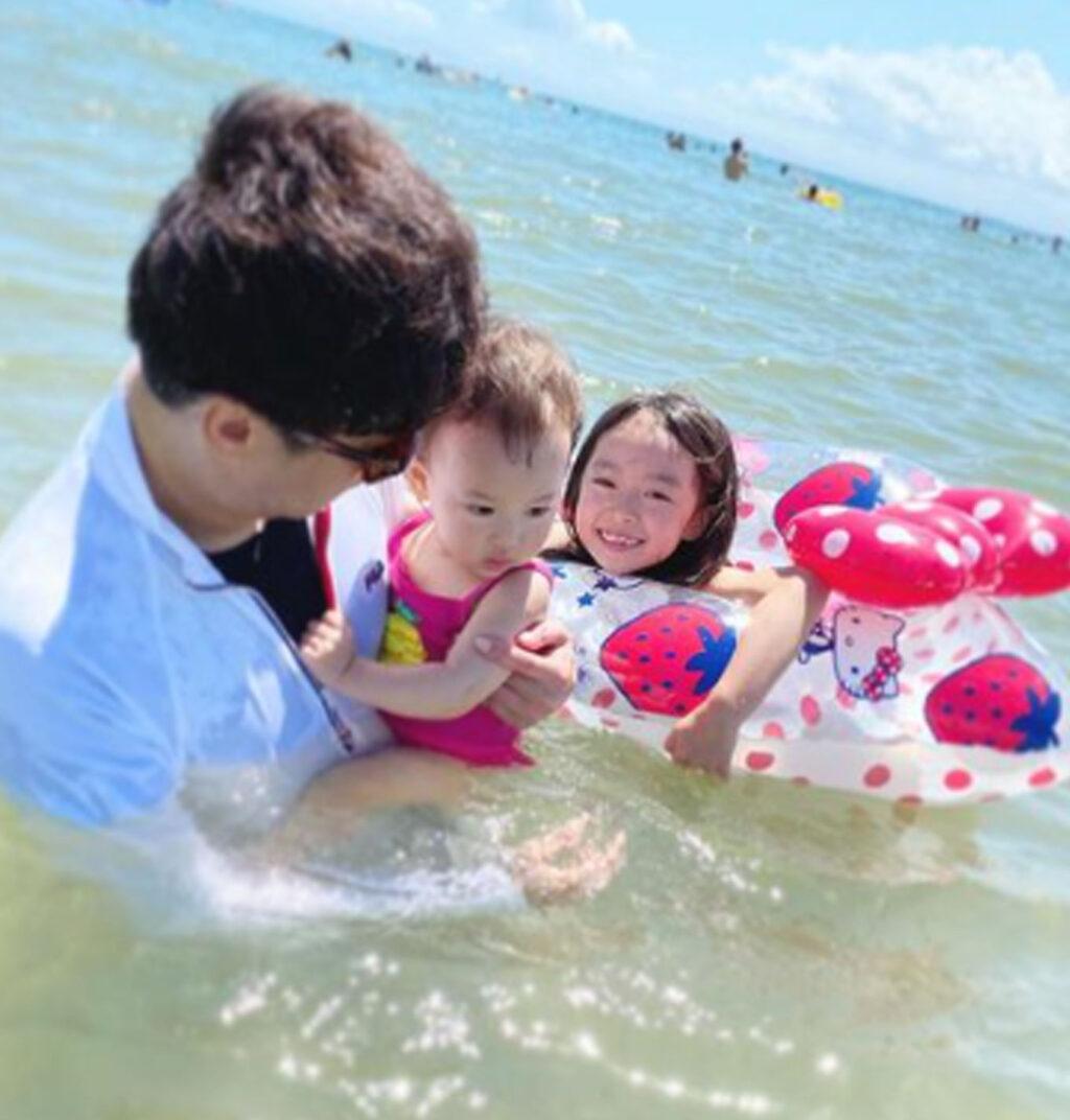 肥田莉里香と家族