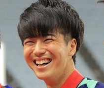多田修平の笑顔