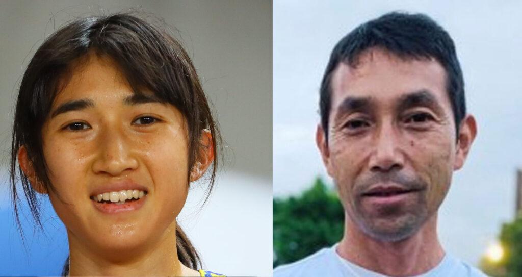 田中希実と父親の比較画像